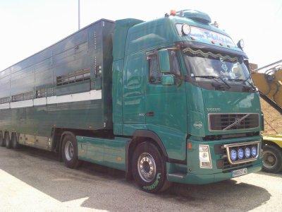 Ce Volvo FH13 de 480 chevaux est bien entrentenu.
