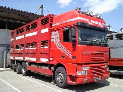 Quelques camions pris sur le marché aux bestiaux de Bourg-en-Bresse (01).