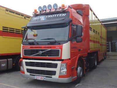 Un autre camion était présent, son Volvo FM11 430.