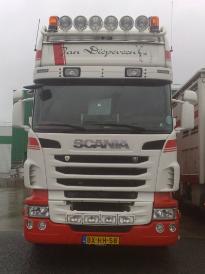 Scania R500 de Jan Diepeveen (NL).