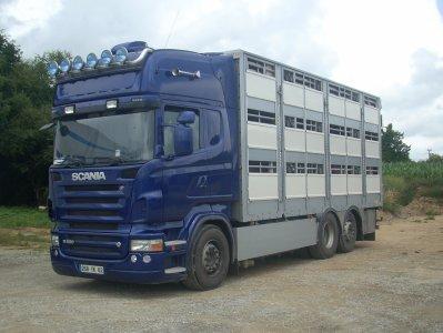 Scania R620 de la société de Paul & Albert Dehosse (62).