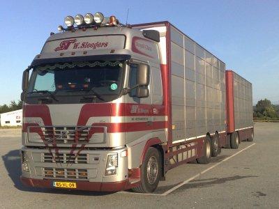 Quelques unes de mes photos de transporteurs hollandais.