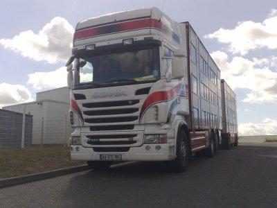 Nouveau Scania R620 pour les transports Pivet (39).