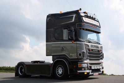 Le Scania R500 de Kenneth Leus vu à Assen par Fabien.