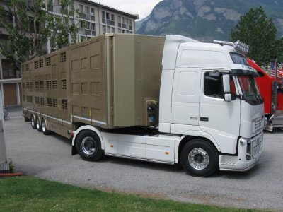 Un nouvel ensemble en France, les transports Marcuzzi de Annecy (74).