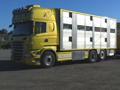 Nouveau châssis pour un camion remorque de chez TGC (24).