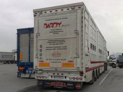 Un autre ensemble des transports Bardy Bresse (71), ce Daf XF.