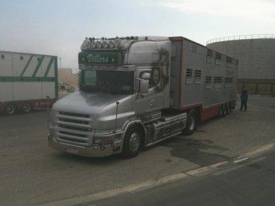 Un transporteur belge apprécié, le Scania T de Jean-Luc Villers (B).