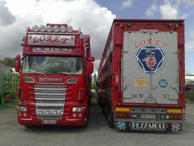 Pour le plaisir des yeux, quelques dernières photos des Scania R560.