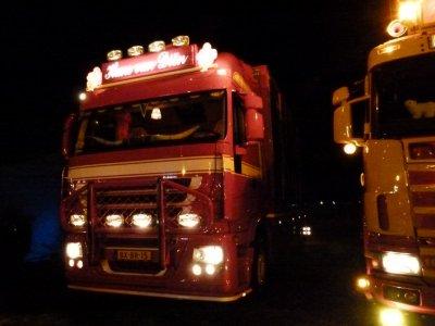 Une infime partie des autres camions présents au Nog Harder 2011 de Lopik (NL).
