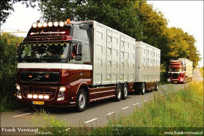 Après les finitions, le Volvo FH16 de Gert Posthouwer : The Dukes of Putten.