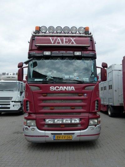 Autre Scania R500 que je présentais d'ailleurs à la vente en page précédente.