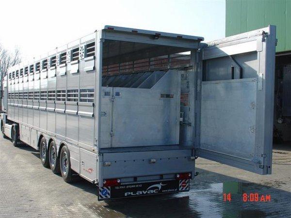 Des constructions variées du porteur à vaches à la grande semi pour équidés.