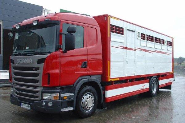 Nouvelle série variée de bétaillères construites par le carrossier polonais.