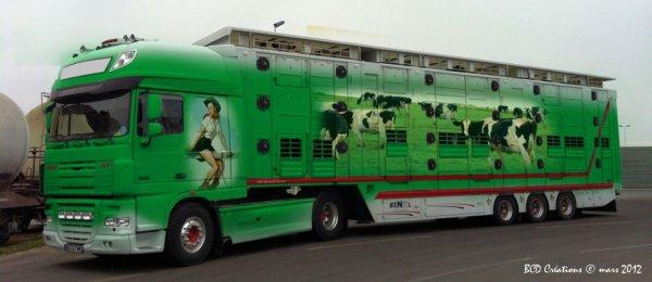Poursuivons dans l'originalité avec ce camion appartenant à l'italien Gerardo.