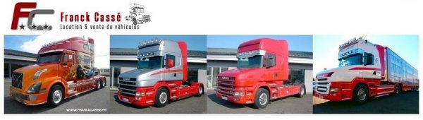 La société Franck Cassé (31) se consacre à la location et la vente de véhicules.
