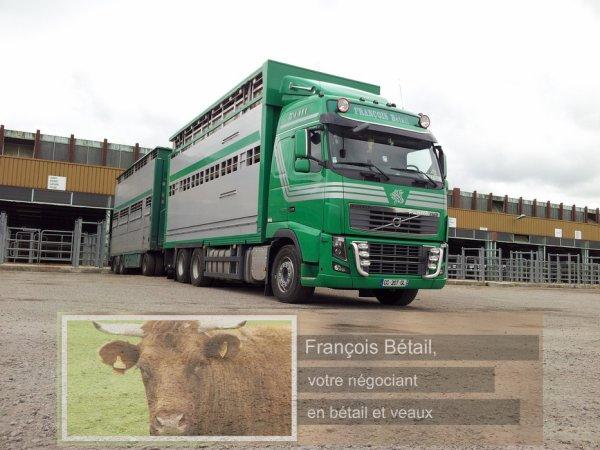 Le négoce du bétail, une expérience transmise de père en fils chez les François.