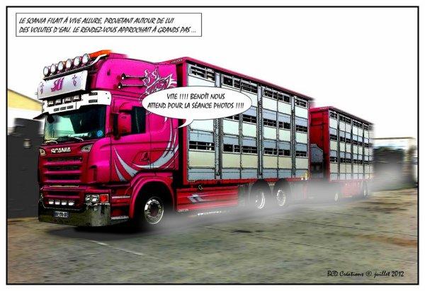 Mais au fait, qu'est devenu l'excellent Scania R620 de Christophe Malpart ?