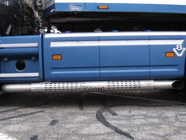 Scania R560 de la société Hinde Livestock Exports installée à Dunboyne (IRL).