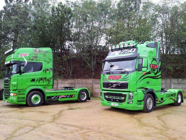 Florilège des plus beaux camions de la 28ème édition des 24 heures du Mans (72).