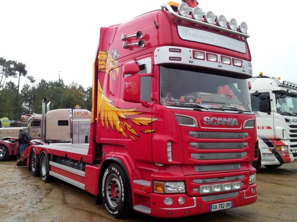 Sous toutes les déclinaisons, Scania reste un acteur majeur de ces manifestations.