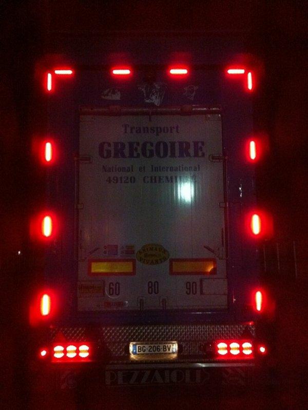 Accompagnons la maison Gregoire (49) pour des transports se rendant à Sète (34).