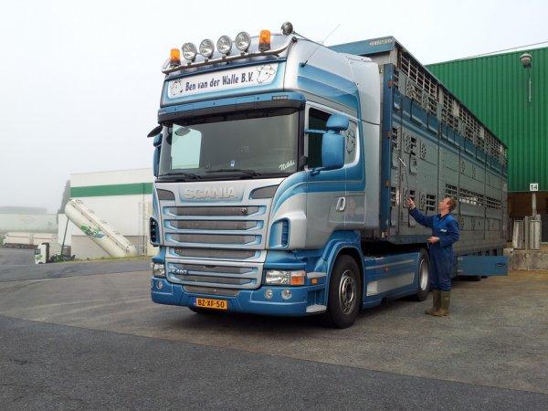 La société Ben van der Walle (NL) renoue progressivement avec la marque Scania.