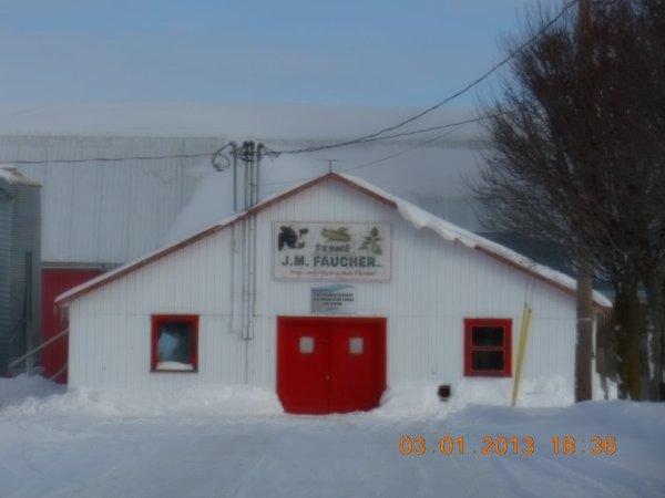 Découverte de plusieurs exploitations agricoles de la région québécoise.