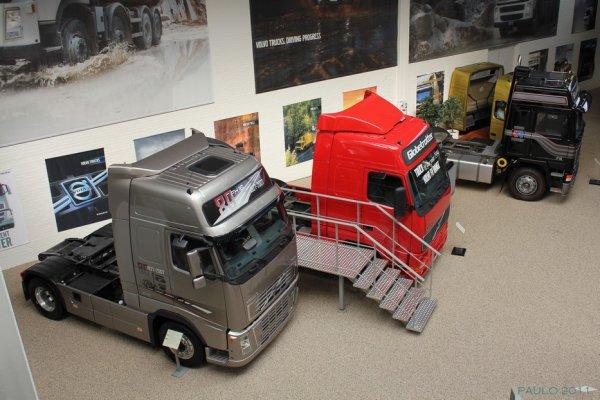 Grâce à la bonté de Paul, le musée Volvo de Göteborg (S) vous ouvre ses portes.