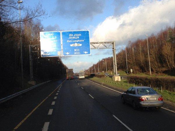Une mission peu fréquente a récemment mené six chauffeurs français en Irlande.