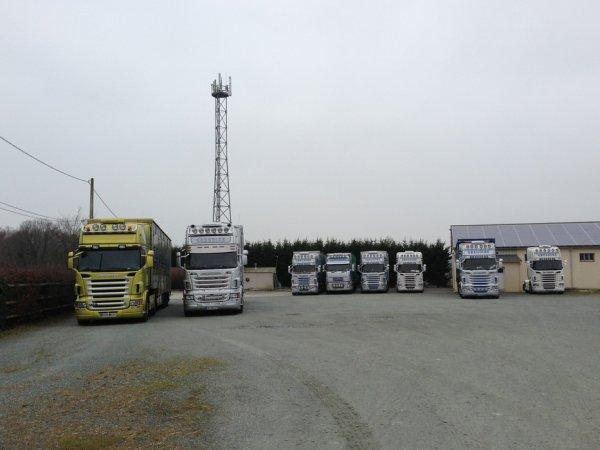 Premier ensemble neuf de l'année pour les transports Gregoire (49).