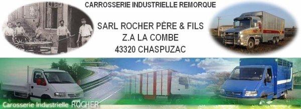 Découverte de l'activité du carrossier Rocher installé à Chaspuzac (43).