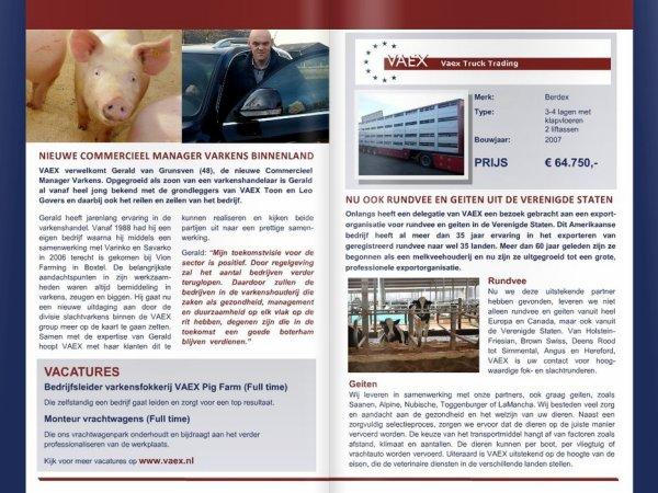 Détaillons tout ce qui a récemment fait l'actualité du commerçant VAEX (NL).
