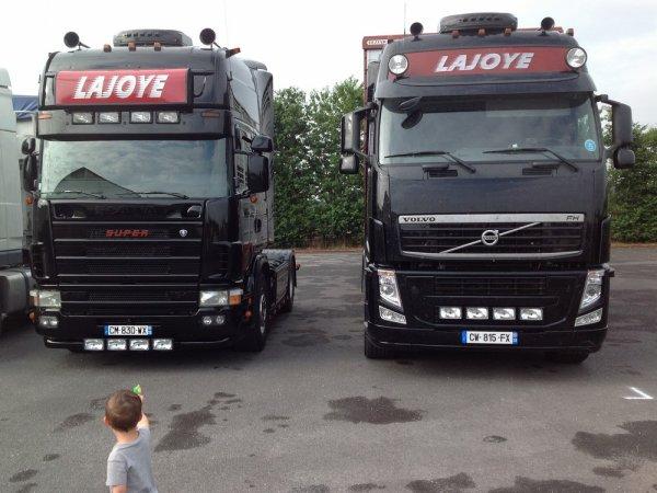 Dans la famille Lajoye, je demande les fils ! De l'actu pour Arnaud & Cédric.