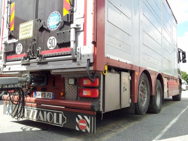Volvo FH13 540 des transports Lajoye qui sont eux aussi de Fougères (35).