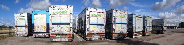 Scania R500, le premier de la marque au sein des transports Davoust (22).