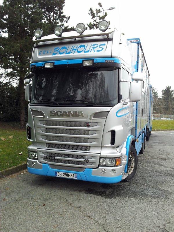 Scania R560, un modèle plus représentatif du transporteur haut-normand.