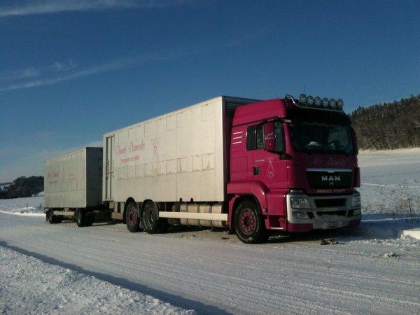 Nous allons bientôt entamer un reportage intégral sur un transporteur suisse.