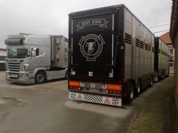 La famille Ducrocq est dans le commerce de bestiaux depuis plus de 160 ans.