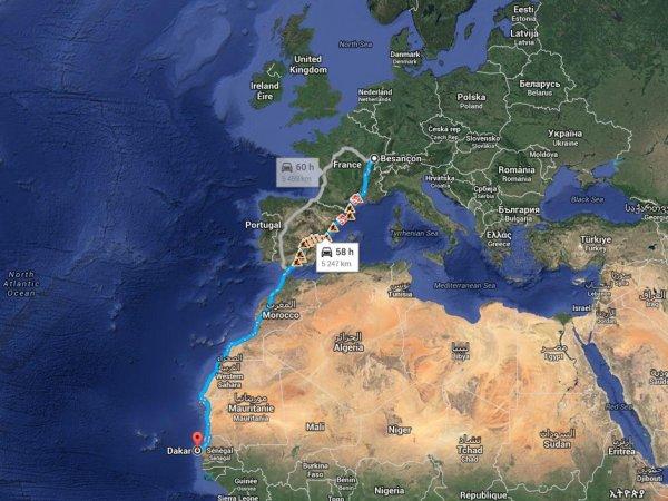 Concluons cette expédition en terre africaine. Elle se sera très bien déroulée.