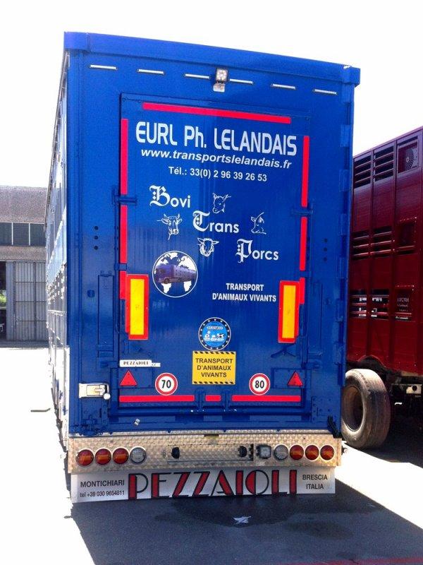 Seconde Pezzaioli SBA31-SR pour les transports Lelandais de La Landec (22).