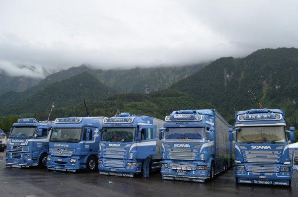 Trucker & Country Festival de Interlaken (CH) visité en juin 2014 par Cyrille.