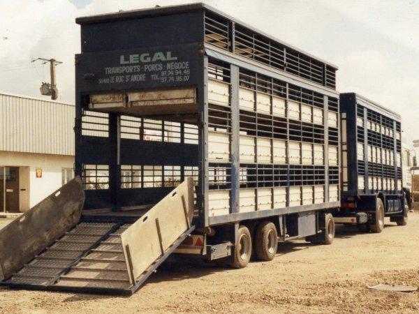 Scania et Volvo sont les marques qui s'imposent dans le secteur en 1980.