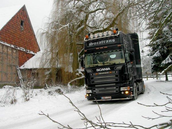 Près de quatre ans que je n'avais pas parlé du transporteur belge Sucatrans.