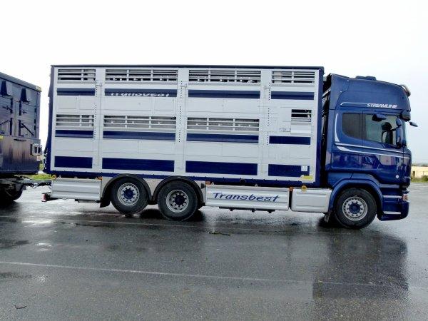 Scania R580 Streamline à Jean-Marc toujours des transports Transbest (24).