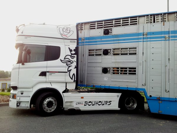 Scania R560 série Porsche Carrera Cup des transports CMKL Bouhours (27).