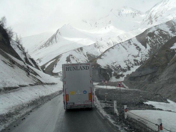 La firme Hunland (H) dessert l'Europe entière, le Moyen-Orient et l'Asie.