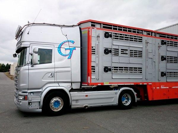 Nouvelle carrosserie bétaillère disponible sur le marché français : Plavac (PL).