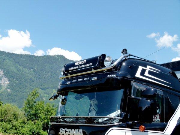 Interlaken 2015 - Scania G490 Streamline à Ruedi Rösch de Limpach (CH).