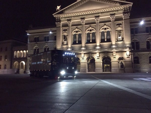 Interlaken 2015 - Scania R Streamline à Franz et Daniel Duss de Hasle (CH).